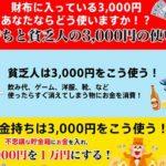 財布に入っている3000円あなたならどう使いますか? 株式会社シェイクオフ 高岡勇人