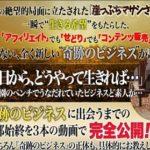 奇跡のビジネス公開キャンペーン https://www.affiliate-mts.com/ 葉山大先生の黄昏。